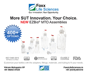 Foxx Life Sciences - Bioprocess