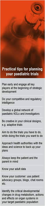 Practical Tips for planning your Paediatric Trials