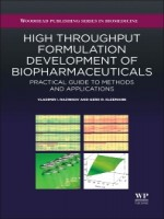 High Throughput Formulation Development Of Biopharmaceuticals, 1st Edition