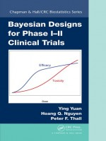Bayesian Designs for Phase I–II Clinical Trials