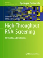 High-Throughput RNAi Screening