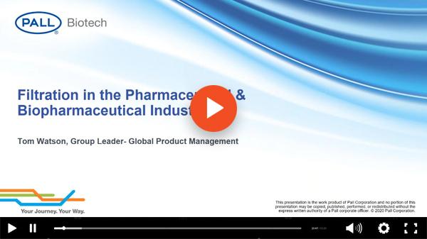 Pall Biotech Webinar Video