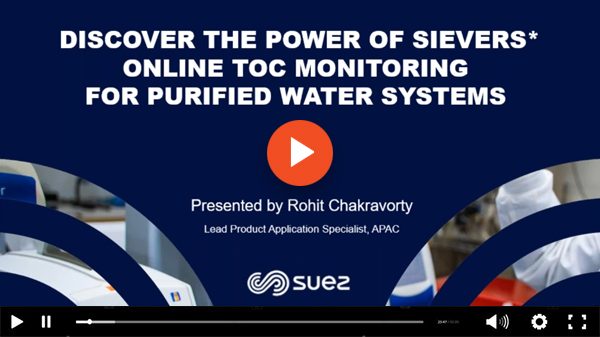 SUEZ Sievers Webinar Video